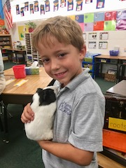 We have a new class pet!